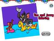Tom og Jerry farvespil