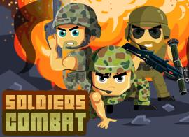 Soldat i kamp