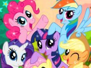 My little pony puslespil