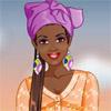 Skønhedsbutikken afrikansk kvinde