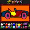 Sportsbil farvning